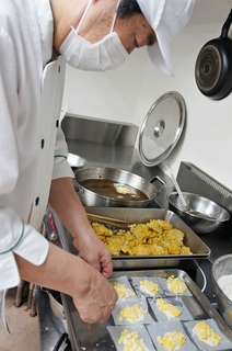 みどりヶ丘 栄養課より 料理長佐藤の和食と収穫祭part1