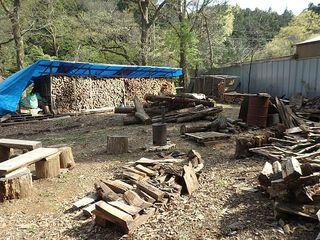 4月3日自由の森学園の薪ボイラー視察