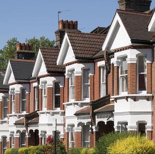イギリスの典型的な戸建て住宅