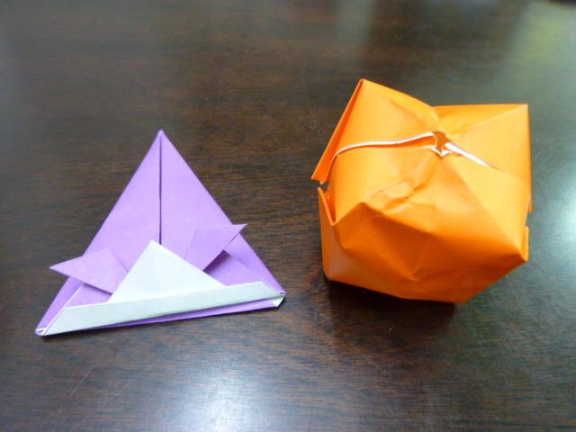 簡単 折り紙:折り紙 紙ふうせん-divulgando.net