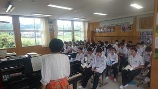 十島村の中学生は積極的?-伊集院北中学校ブログ「朝日つらぬく」
