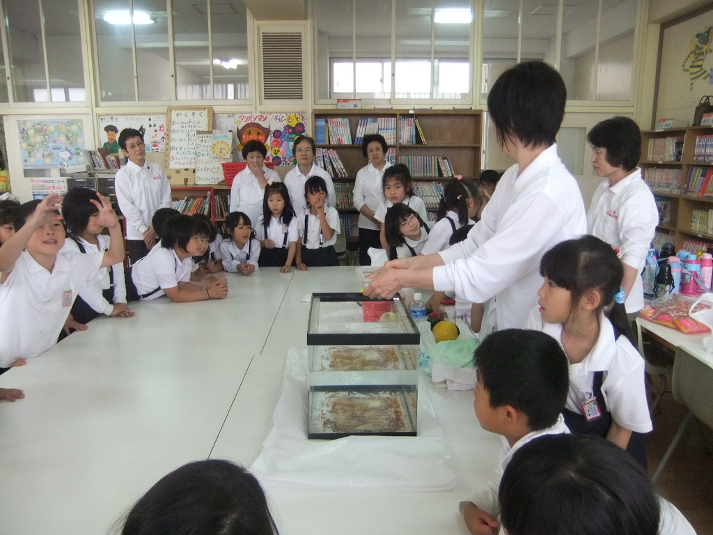 小学校「いきいき教室」開講-今...