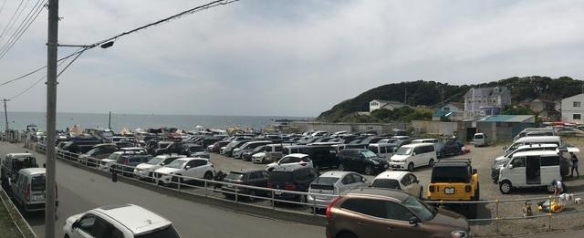 長浜駐車場「夜間閉鎖」のお知らせ