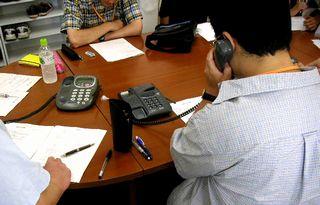 電話応対ロールプレイ