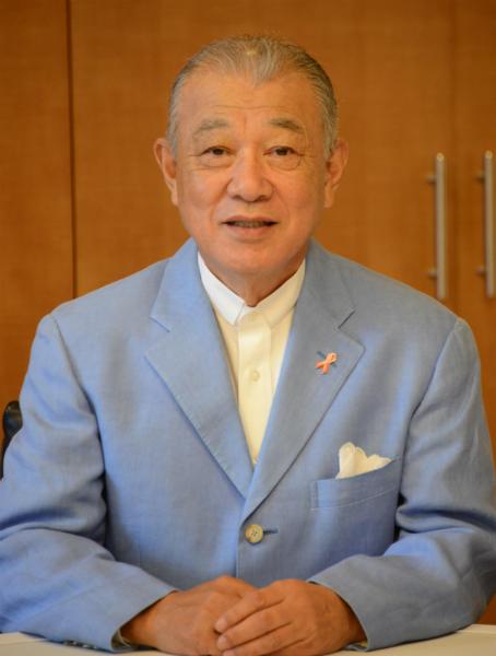 保健人権大賞を受賞することになった笹川会長