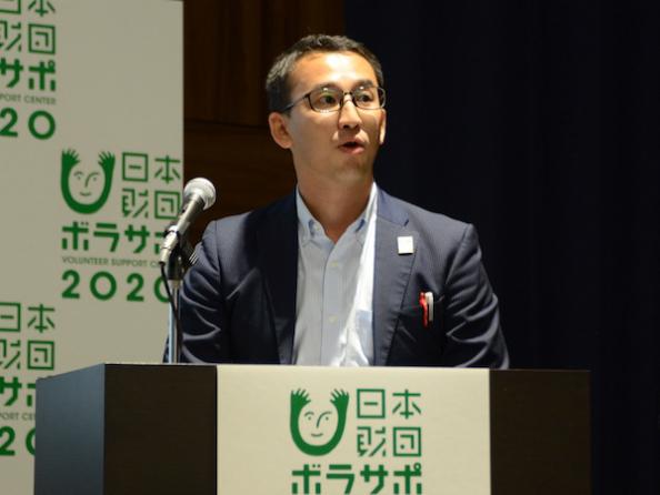 日本生命の松崎勝彦東京2020推進担当課長