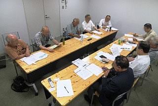 農都部会のミーティング