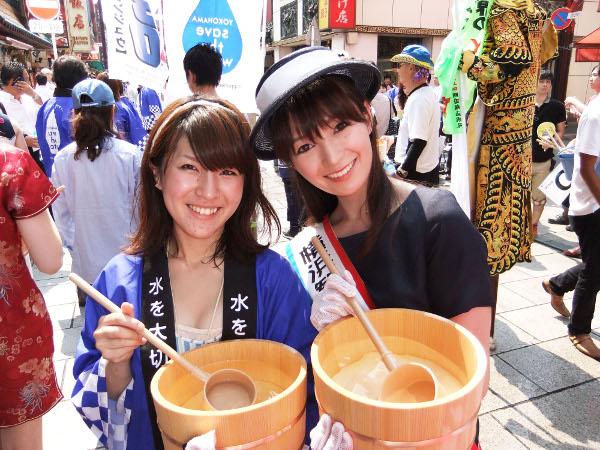 横浜観光親善大使・雨女